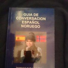 Libros de segunda mano: GUÍA DE CONVERSACIÓN ESPAÑOL-NORUEGO. Lote 177708475