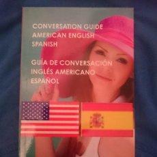 Libros de segunda mano: GUÍA DE CONVERSACIÓN ESPAÑOL-INGLES AMERICANO. Lote 177708662