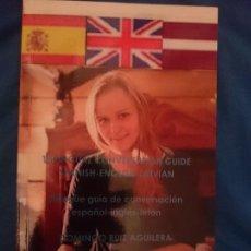 Libros de segunda mano: GUIA DE CONVERSACION ESPAÑOL-INGLES-LETON. Lote 177708823