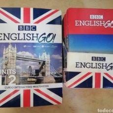 Libros de segunda mano: ENGLISH GO - CURSO COMPLETO DE LA BBC. Lote 178178717