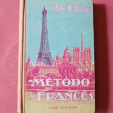 Libros de segunda mano: METODO DE FRANCES - RENE H THIERRY. Lote 178944636