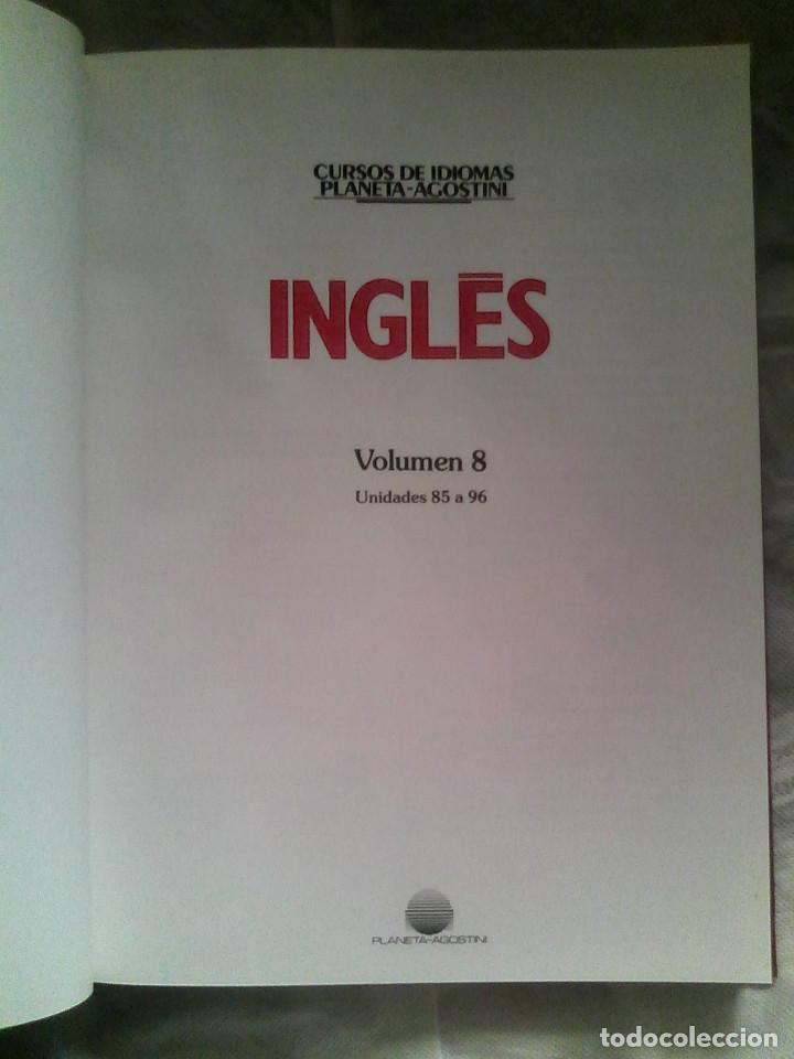 Libros de segunda mano: Curso de inglés Planeta-Agostini completo - 8 vol. + 32 cassettes + 4 estuches + 20 libros - 1990 - Foto 8 - 176061608
