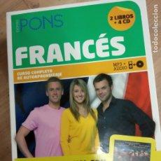 Libros de segunda mano: FRANCÉS -LIBROS -4 CD . Lote 179033585