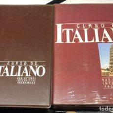 Libros de segunda mano: CURSO DE ITALIANO AUDIOVISUAL, VOL. 1. Lote 179151195