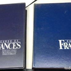 Libros de segunda mano: CURSO AUDIOVISUAL DE FRANCÉS, VOL. 1. Lote 179151333