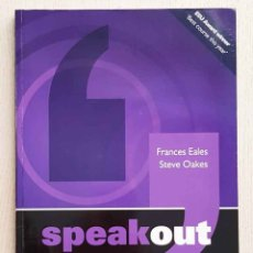 Libros de segunda mano: SPEAKOUT. UPPER INTERMEDIATE. STUDENTS' BOOK. (ED. PEARSON) - EALES, FRANCES - OAES, STEVE. Lote 179160360