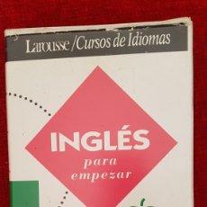 Libros de segunda mano: INGLES PARA EMPEZAR LARRUSE. Lote 179250218