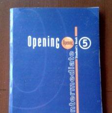 Libros de segunda mano: CURSO DE INGLÉS ENGLISH OPENING SCHOOL INTERMEDIATE TOMO 5 STUDENT'S BOOK. Lote 179329196