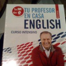 Libros de segunda mano: CURSO INTENSIVO DE INGLÉS VAUGHAN. TU PROFESOR EN CASA. ADVANCED. Lote 180161561