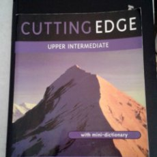 Libros de segunda mano: LIBRO DE INGLÉS CUTTING EDGE UPPER INTERMEDIATE. STUDENT'S BOOK. Lote 180339503