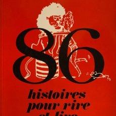 Libros de segunda mano: 86 HISTOIRES POUR RIRE ET LIRE EN RUSSE. PARÍS, 1994. COMENTARIOS EN FRANCÉS.. Lote 182111265