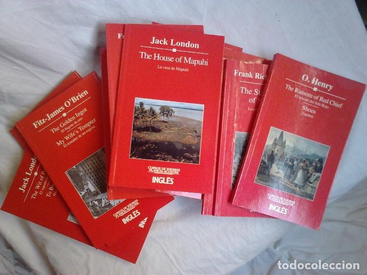 Libros de segunda mano: Curso de inglés Planeta-Agostini completo - 8 vol. + 32 cassettes + 4 estuches + 20 libros - 1990 - Foto 4 - 176061608