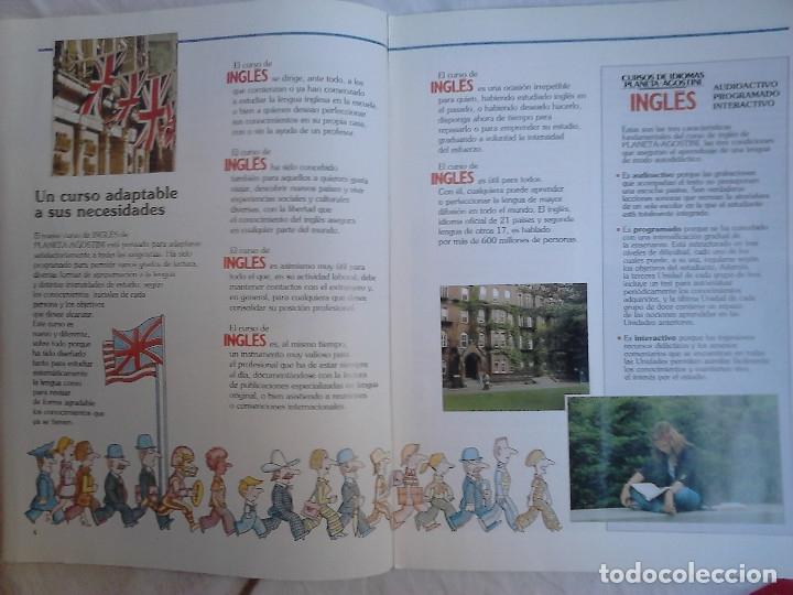Libros de segunda mano: Curso de inglés Planeta-Agostini completo - 8 vol. + 32 cassettes + 4 estuches + 20 libros - 1990 - Foto 15 - 176061608