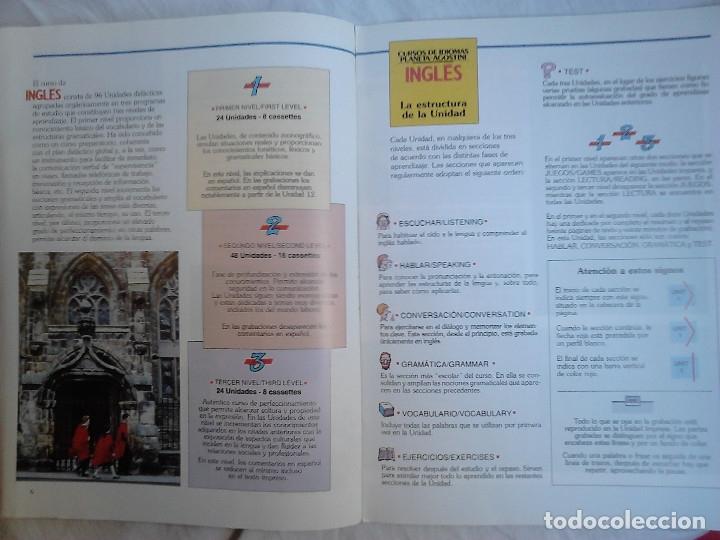 Libros de segunda mano: Curso de inglés Planeta-Agostini completo - 8 vol. + 32 cassettes + 4 estuches + 20 libros - 1990 - Foto 16 - 176061608