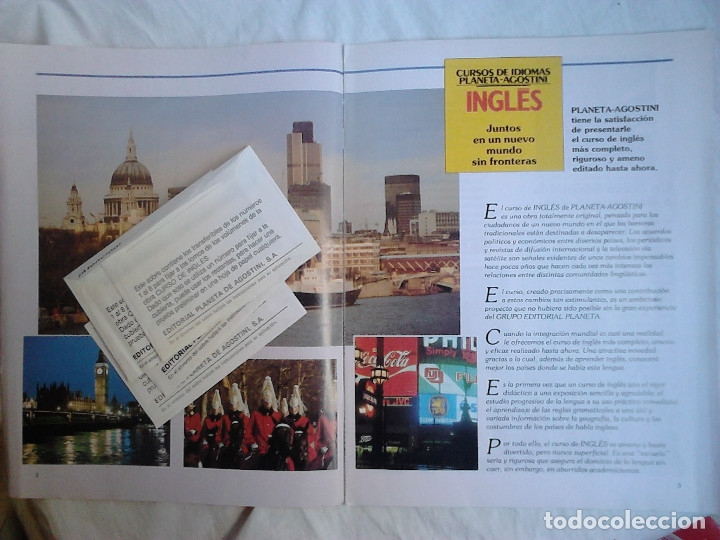 Libros de segunda mano: Curso de inglés Planeta-Agostini completo - 8 vol. + 32 cassettes + 4 estuches + 20 libros - 1990 - Foto 14 - 176061608