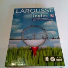 Libros de segunda mano: LAROUSSE INGLES METODO INTEGRAL ( INCLUYE LOS DOS CD-ROM + EL LIBRO) - SANDRA STEVENS. Lote 182386762