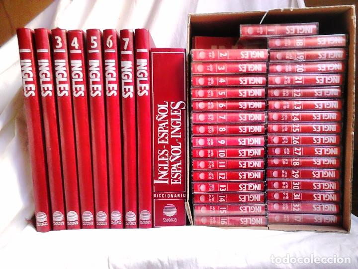 CURSO DE INGLÉS PLANETA-AGOSTINI COMPLETO (1990). 8 TOMOS + 1 DICCIONARIO + 32 CASSETTES (Libros de Segunda Mano - Cursos de Idiomas)