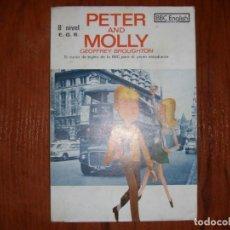 Libros de segunda mano: LIBRO INGLÉS PETER AND MOLLY 8º EGB. Lote 184114701