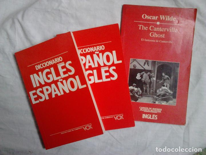 Libros de segunda mano: Curso inglés Planeta-Agostini completo (8 vol. + 4 estuches + 32 cassettes + 2 diccionarios + ...) - Foto 4 - 184181547