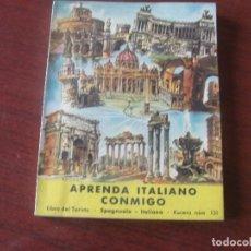 Libros de segunda mano: APRENDA ITALIANO CONMIGO - KUCERA 1954 - STOCK LIBRERIA IMPECABLE. Lote 184464126