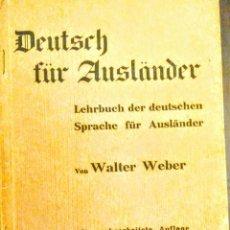 Libros de segunda mano: LIBRO ANTIGUO ALEMÁN 1939. Lote 188505601