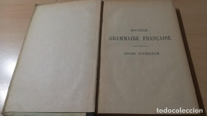 Libros de segunda mano: GRAMMAIRE LANGUE FRANCAISE - NÖEL CHAPSAL - DELAGRAVE 1901 / H302 - Foto 4 - 188845873