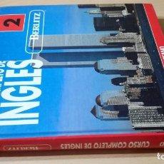 Libros de segunda mano: CURSO COMPLETO DE INGLES BERLITZ - VOL 2 - OCEANO/ I 404/ HOJA FINALROTA. Lote 189081242
