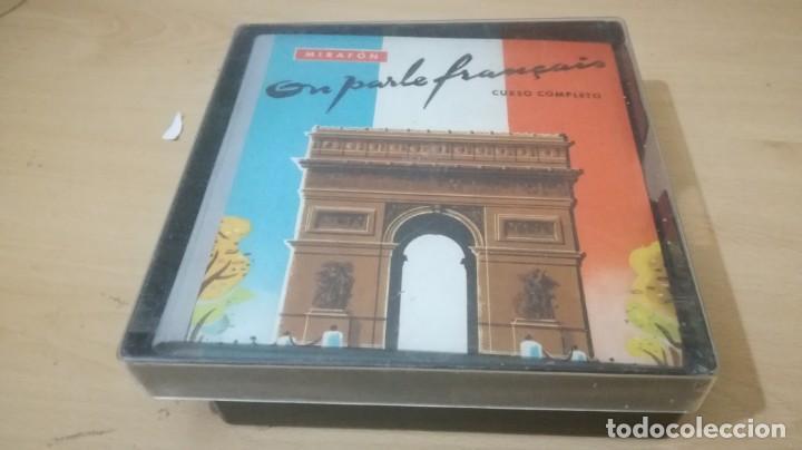 Libros de segunda mano: ON PARLE FRANCAIS - MIRAFON - CURSO COMPLETO - LIBRO + 6 DISCOS/ TXT 36 - Foto 2 - 189083178