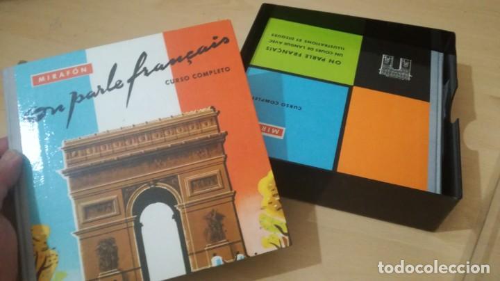 Libros de segunda mano: ON PARLE FRANCAIS - MIRAFON - CURSO COMPLETO - LIBRO + 6 DISCOS/ TXT 36 - Foto 3 - 189083178