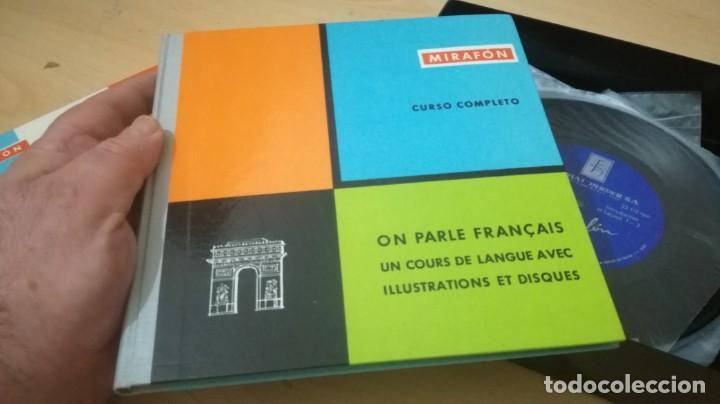 Libros de segunda mano: ON PARLE FRANCAIS - MIRAFON - CURSO COMPLETO - LIBRO + 6 DISCOS/ TXT 36 - Foto 4 - 189083178