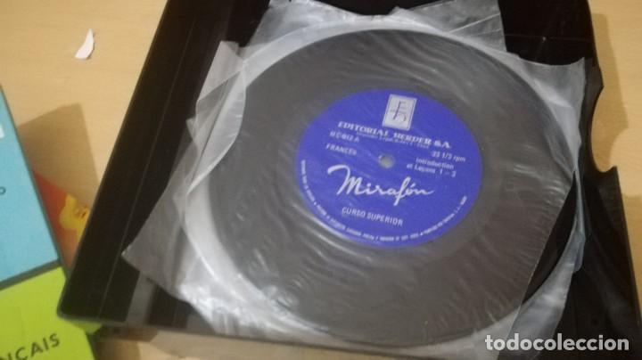 Libros de segunda mano: ON PARLE FRANCAIS - MIRAFON - CURSO COMPLETO - LIBRO + 6 DISCOS/ TXT 36 - Foto 5 - 189083178