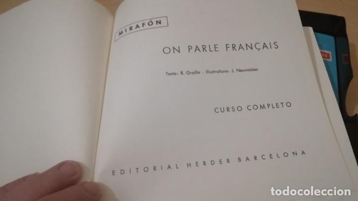 Libros de segunda mano: ON PARLE FRANCAIS - MIRAFON - CURSO COMPLETO - LIBRO + 6 DISCOS/ TXT 36 - Foto 13 - 189083178