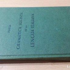 Libros de segunda mano: GRAMATICA SUCINTA DE LA LENGUA ITALIANA - GASPEY OTTO SAUER HERDER/ TXT66. Lote 189084227