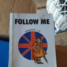Libros de segunda mano: FOLLOW ME. UNIDADES 1-15. BBC ENBGLISH. OMNI VOX. Lote 189476358