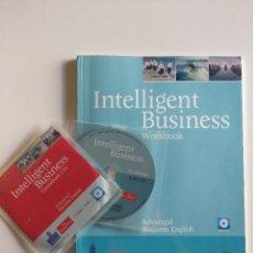 Libros de segunda mano: INTELLIGENT BUSINESS - WORKBOOK + COURSBOOK CD - ADVANCED BUSINESS BOOK. INCLUYE CDS PEARSON LONGMAN. Lote 189950690