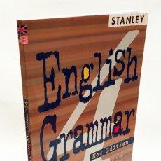 Livros em segunda mão: ENGLISH GRAMMAR - EDITORIAL STANLEY - EDWARD ROSSET - APRENDER INGLÉS. Lote 190153631