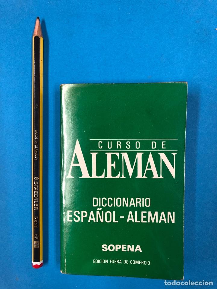 Libros de segunda mano: CURSO DE ALEMAN - DICCIONARIO ESPAÑOL-ALEMÁN / ALEMÁN-ESPAÑOL - EDITORIAL SOPENA - Foto 2 - 190463575