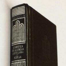 Libros de segunda mano: CRISOLÍN Nº 55 - NEBRIJA, ANTONIO DE. GRAMÁTICA DE LA LENGUA CASTELLANA - EDITORIAL AGUILAR. Lote 191092487