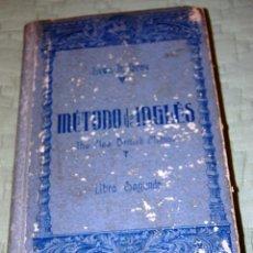 Libros de segunda mano: MÉTODO DE INGLÉS, POR LEWIS TH. GIRAU. AÑO 1942.. Lote 191156817