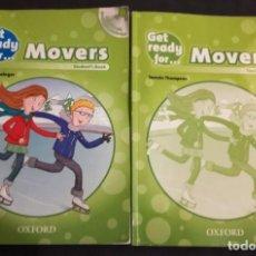 Libros de segunda mano: GET READY FOR MOVERS STUDENT'S BOOK + TEACHER'S BOOK. Lote 191307593