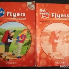 Libros de segunda mano: GET READY FOR FLYERS STUDENT'S BOOK + TEACHER'S BOOK. Lote 191307833