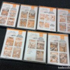 Libros de segunda mano: LOTE DE CINTAS COLECCION ASTERIX EN INGLES. Lote 191308468