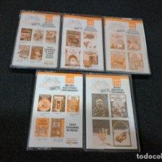 Libros de segunda mano: LOTE DE CINTAS COLECCION TIN TIN EN INGLES. Lote 191308692