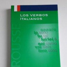 Libros de segunda mano: LOS VERBOS ITALIANOS LAROUSSE *GASTOS DE ENVÍO 7 EUROS*. Lote 191984596