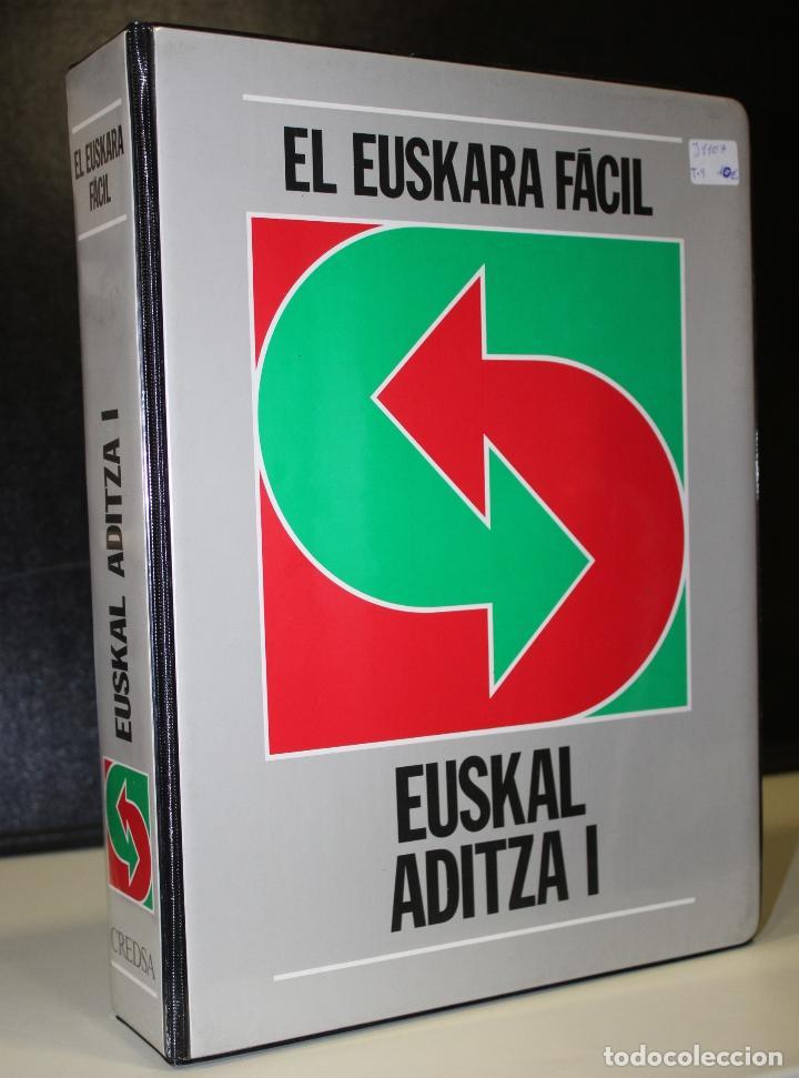 EL EUSKARA FÁCIL. EUSKAL ADITZA I. (Libros de Segunda Mano - Cursos de Idiomas)