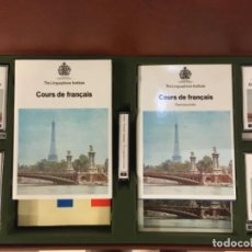 Libros de segunda mano: MALETIN CURSO FRANCES LINGUAPHONE, CASSETTES. Lote 192770982