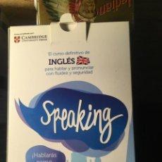 Libros de segunda mano: SPEAKING: CURSO DEFINITIVO DE INGLES (COMPLETO, 30 LIBROS CON SUS CD Y ESQUEMA CURSO. Lote 192806215