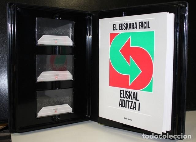 Libros de segunda mano: El euskara fácil. Euskal aditza I. - Foto 2 - 191806765