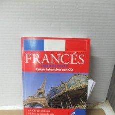 Libros de segunda mano: FRANCES LIBRO DE TEXTO CURSO INTENSIVO CON CD -4 CD . Lote 193356047