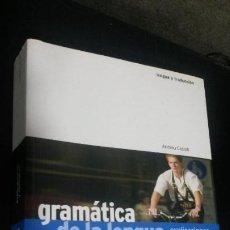 Libros de segunda mano: GRAMATICA DE LA LENGUA ALEMANA: EXPLICACIONES Y EJEMPLOS. ANDREU CASTELL. IDIOMAS HUEBER 2011. . Lote 193781318